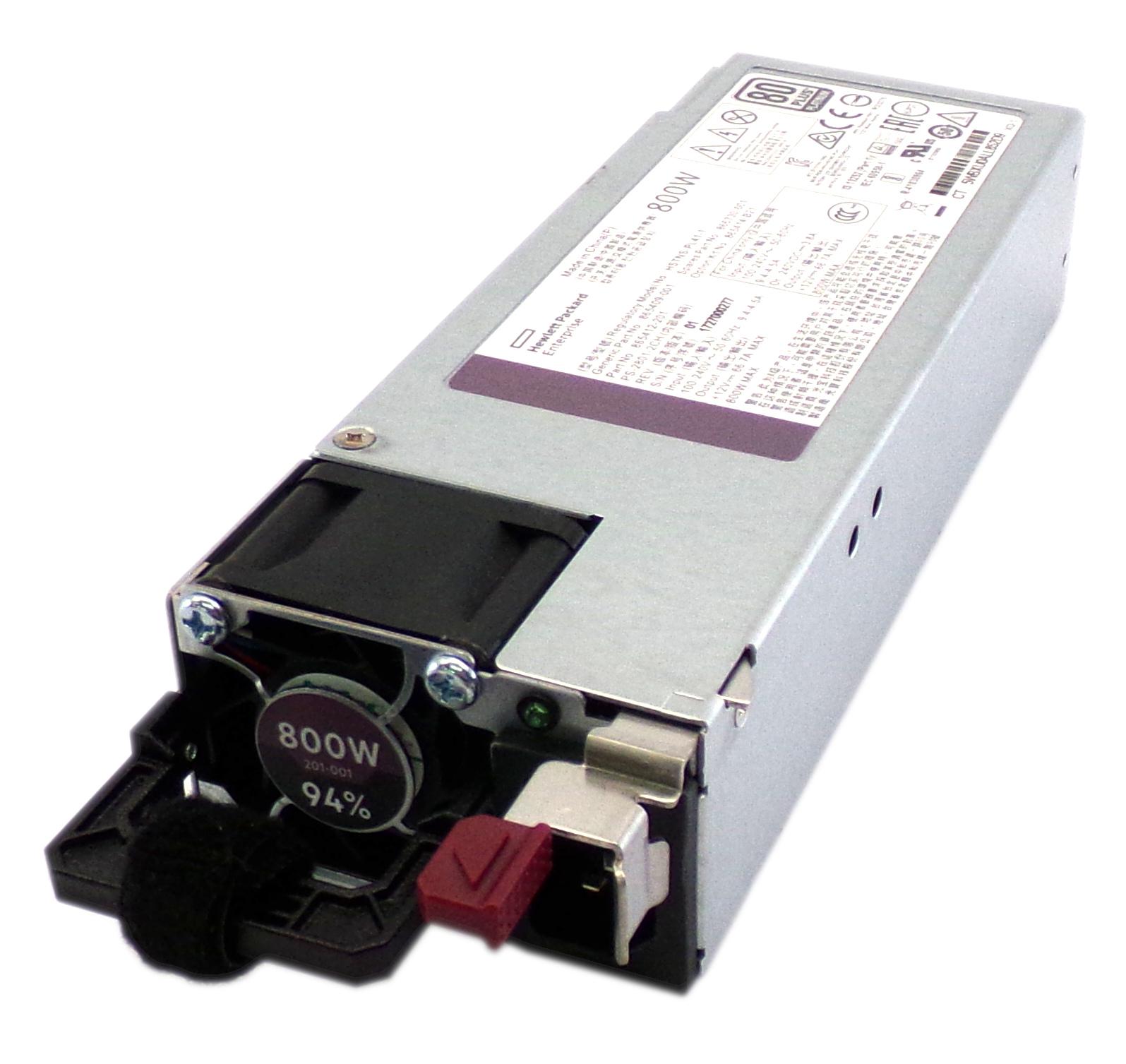 HP 866730-001 ProLiant DL360 Gen10 800W Flex Slot Platinum Power Supply