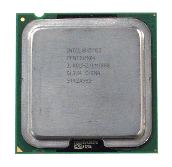 Intel SL7J6 Pentium 4 3.0GHz 800MHz 1MB Socket T LGA775 Processor