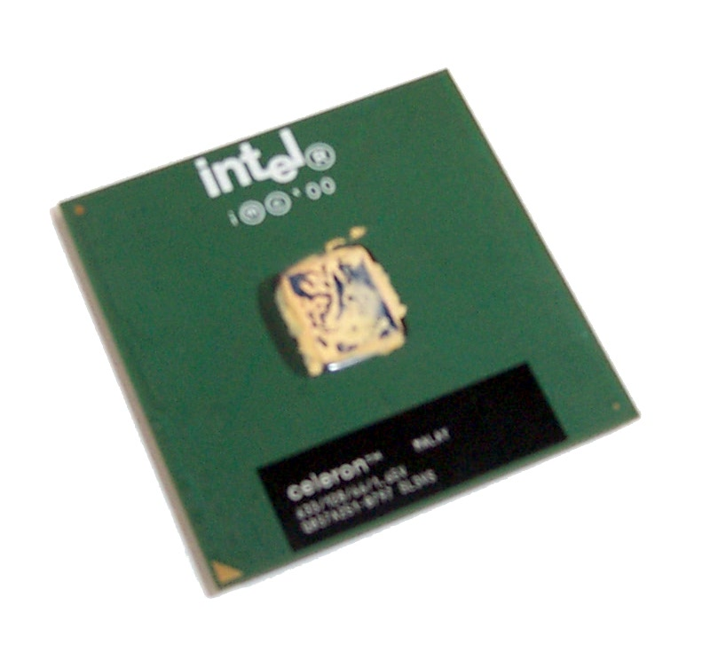 Intel SL3VS Celeron 633MHz 128K Cache 66MHz FSB 1.65V Socket 370 Processor