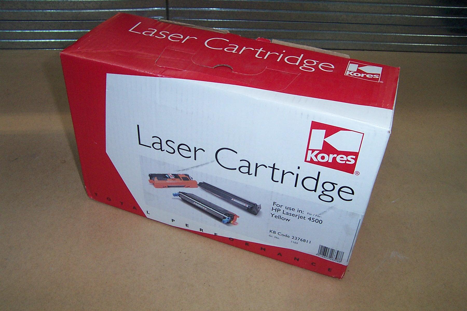 Kores 2376811 Yellow Toner Cartridge for HP LaserJet 4500 Yellow