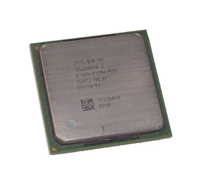 Intel SL87J Celeron D 320 2.4GHz Socket 478 Processor - 256KB Cache, 533MHz FSB