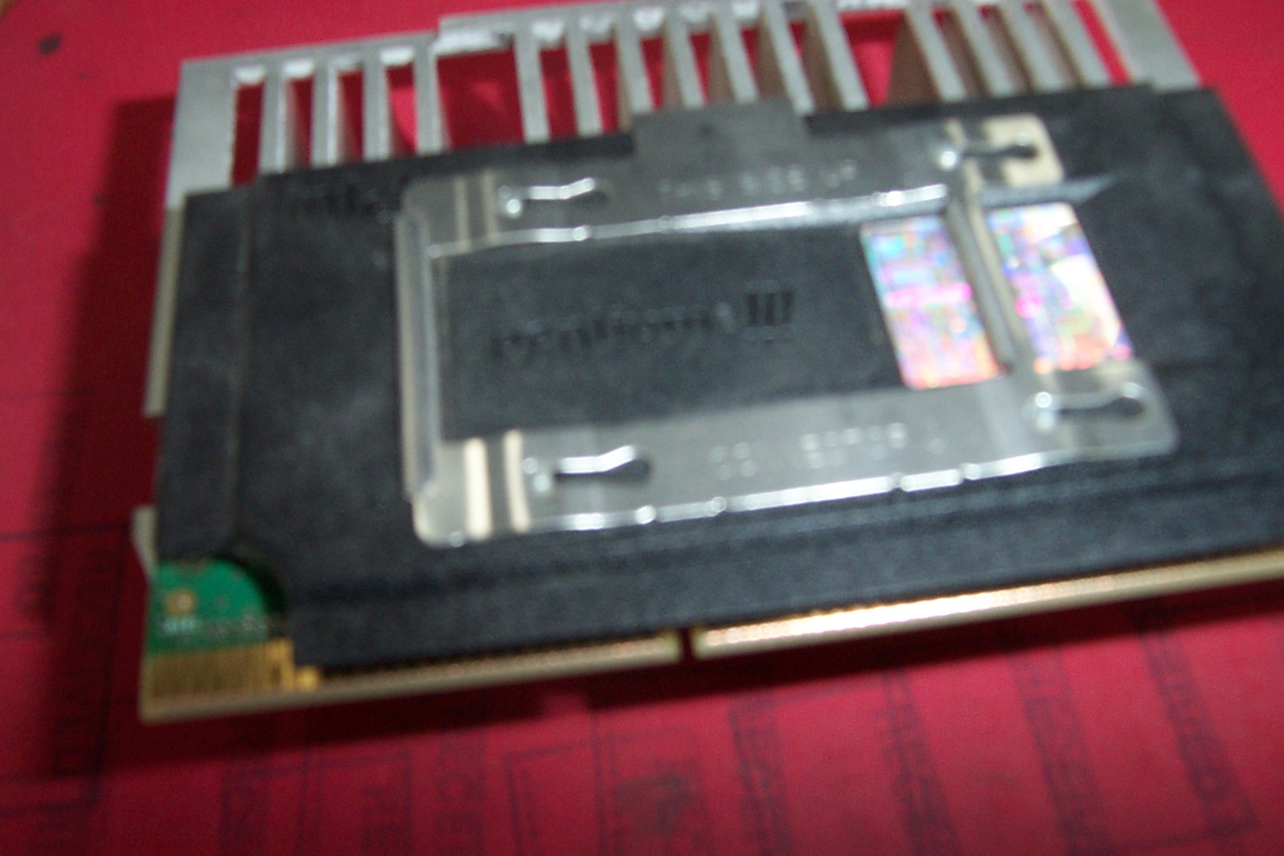 Intel SL35D P3 450MHz CPU with Heatsink 401405-003