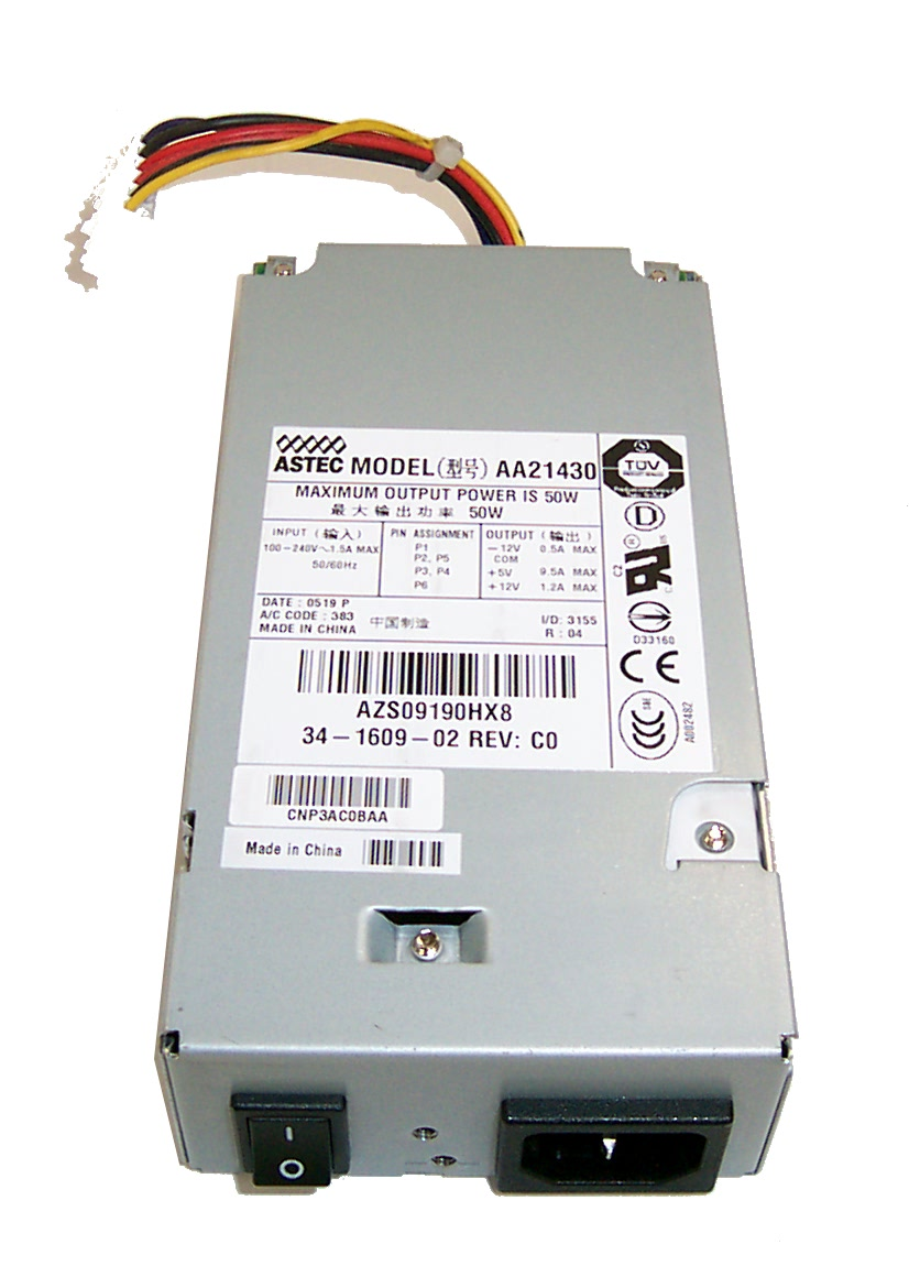 Astec aa21430 34-1609-02 Power Supply