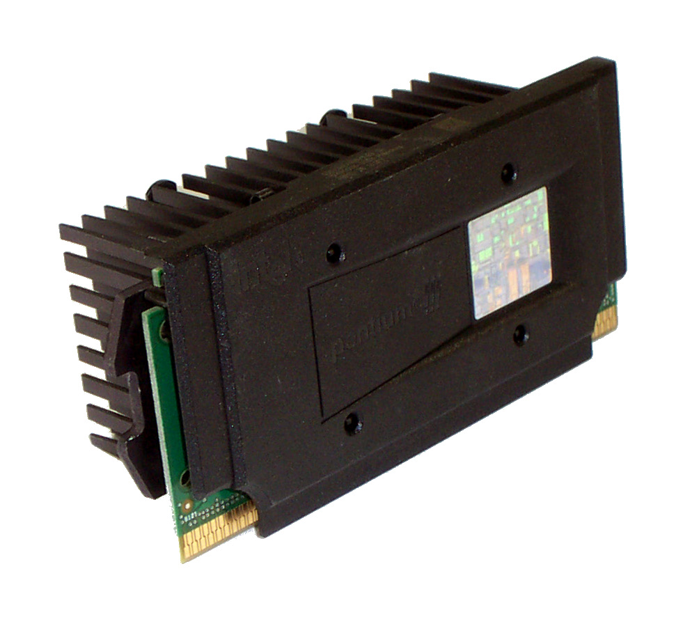 Intel SL3F7 P3 550 550Mhz Processor and Generic Passive Heatsink