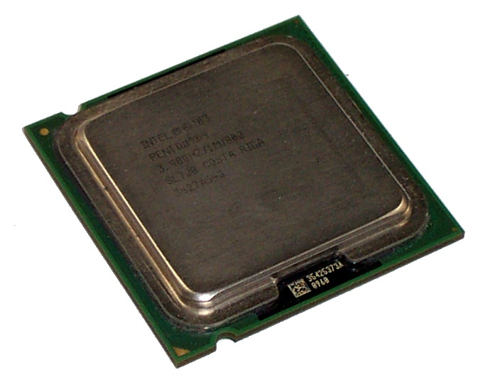 Intel SL7J8 Pentium 4 3.4GHz 800MHz 1MB Socket T LGA775 Processor