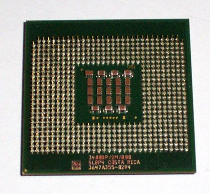 Intel Xeon 3.4GHz 3400DP SL8P4 2MB 800MHz S604 Processor