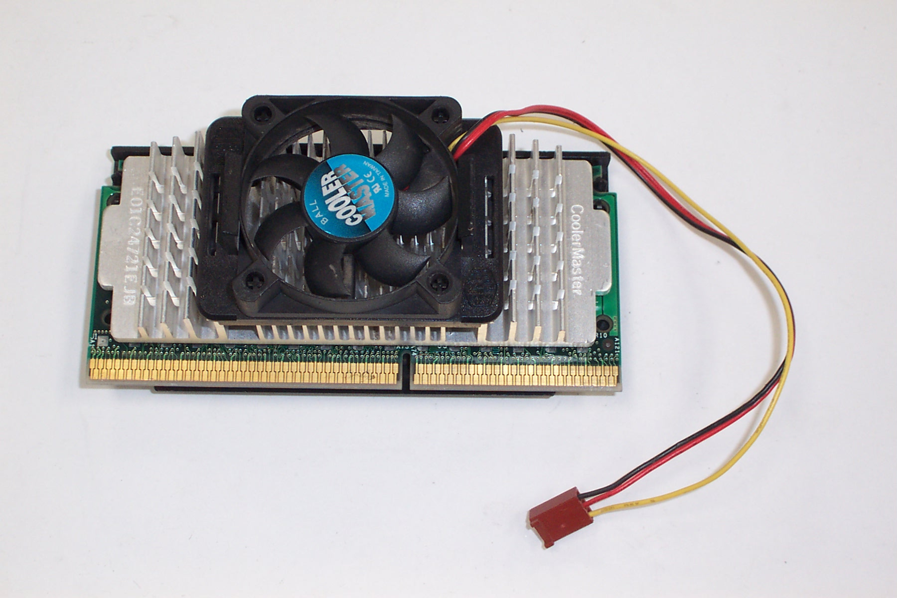 Intel SL356 P2/350 CPU with Heat Sink & Fan