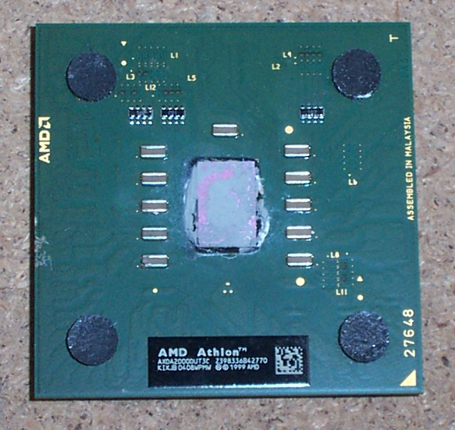 AMD AXDA2000DUT3C Athlon XP 2000+ Socket A/462 CPU