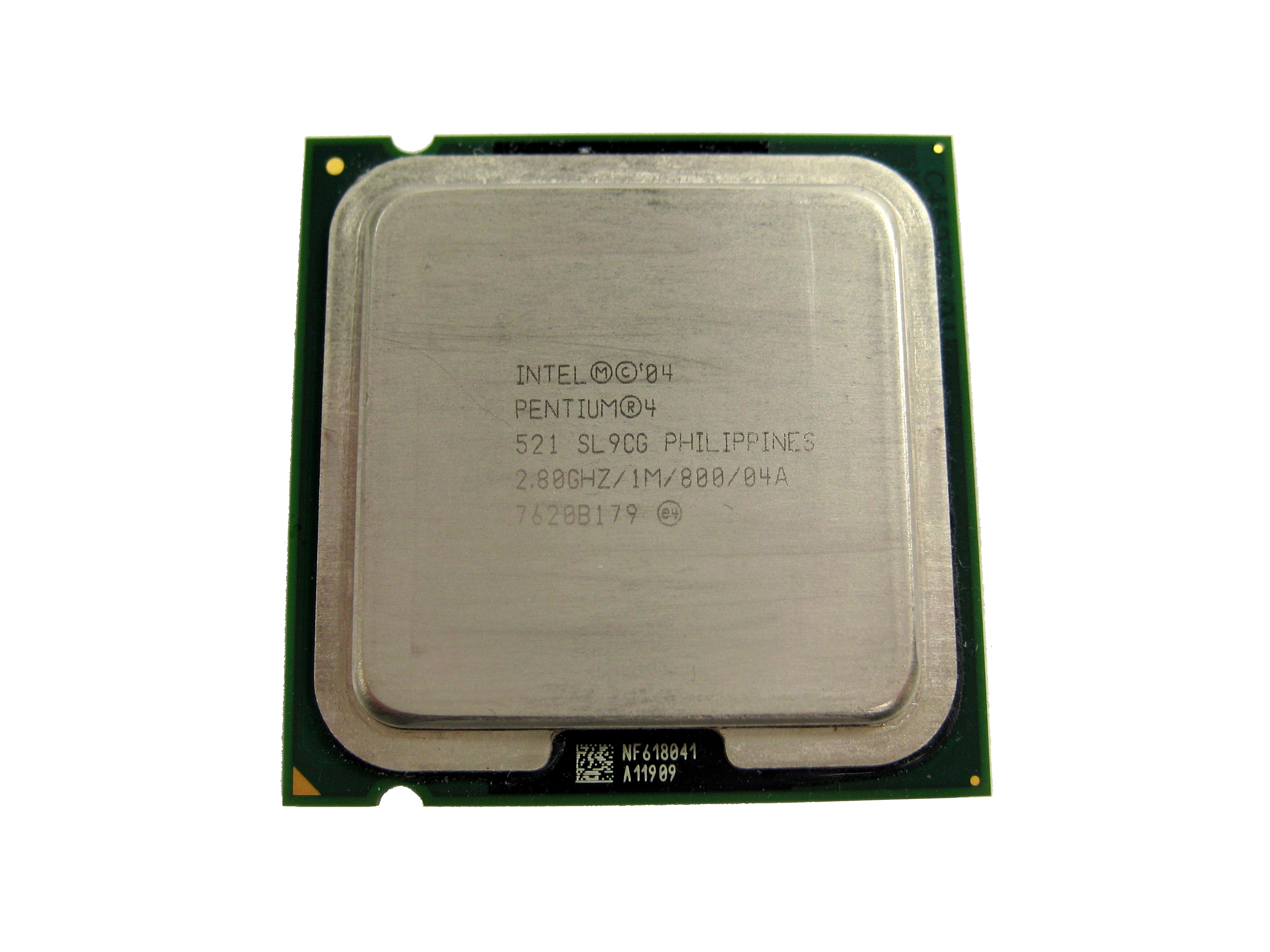 Intel SL9CG Pentium 4 521 2.8GHz 800MHz 1MB Socket 775 Processor
