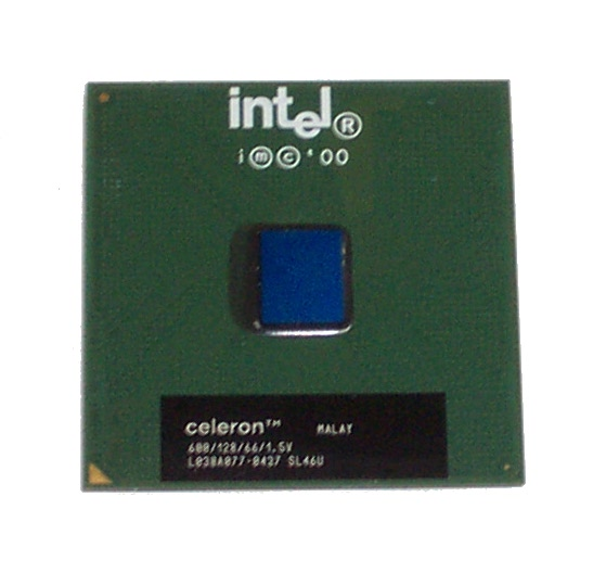 Intel SL46U Celeron 600MHz 128K 66FSB Socket 370 Processor