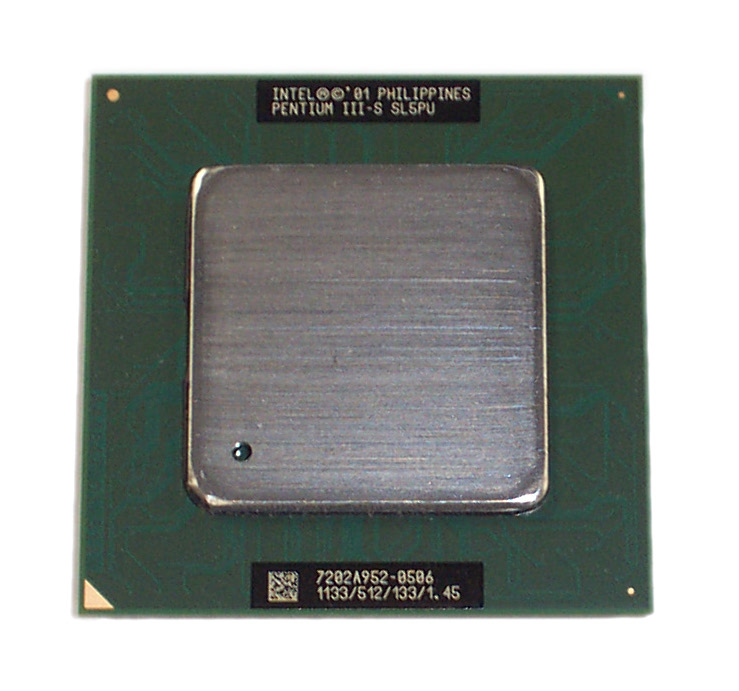 Intel SL5PU Pentium 3 1.13GHz 512KB 133MHz Socket 370 Processor