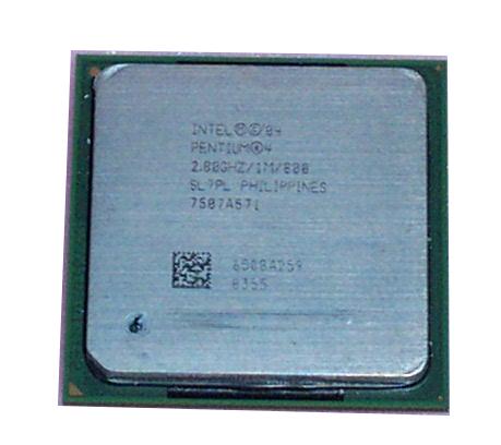 Intel SL7PL Pentium 4 2.8GHz 800MHz 1MB Socket 478 Processor