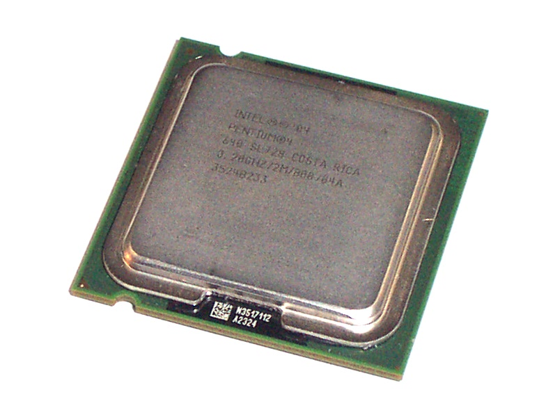 Intel SL7Z8 Pentium 4 640 HT 3.2GHz 800MHz 2MB Socket T LGA775 Processor