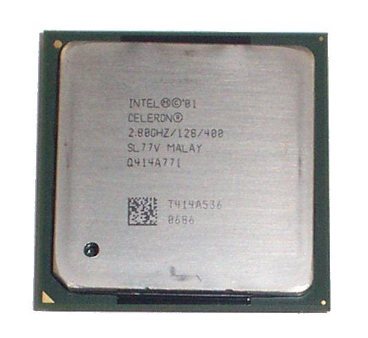 Intel SL77V Celeron 2.8GHz 2.80GHz/128/400 S478 CPU