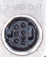 7-Pin Mini-DIN S-Video Connector