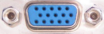 VGA DSUB15 Connector