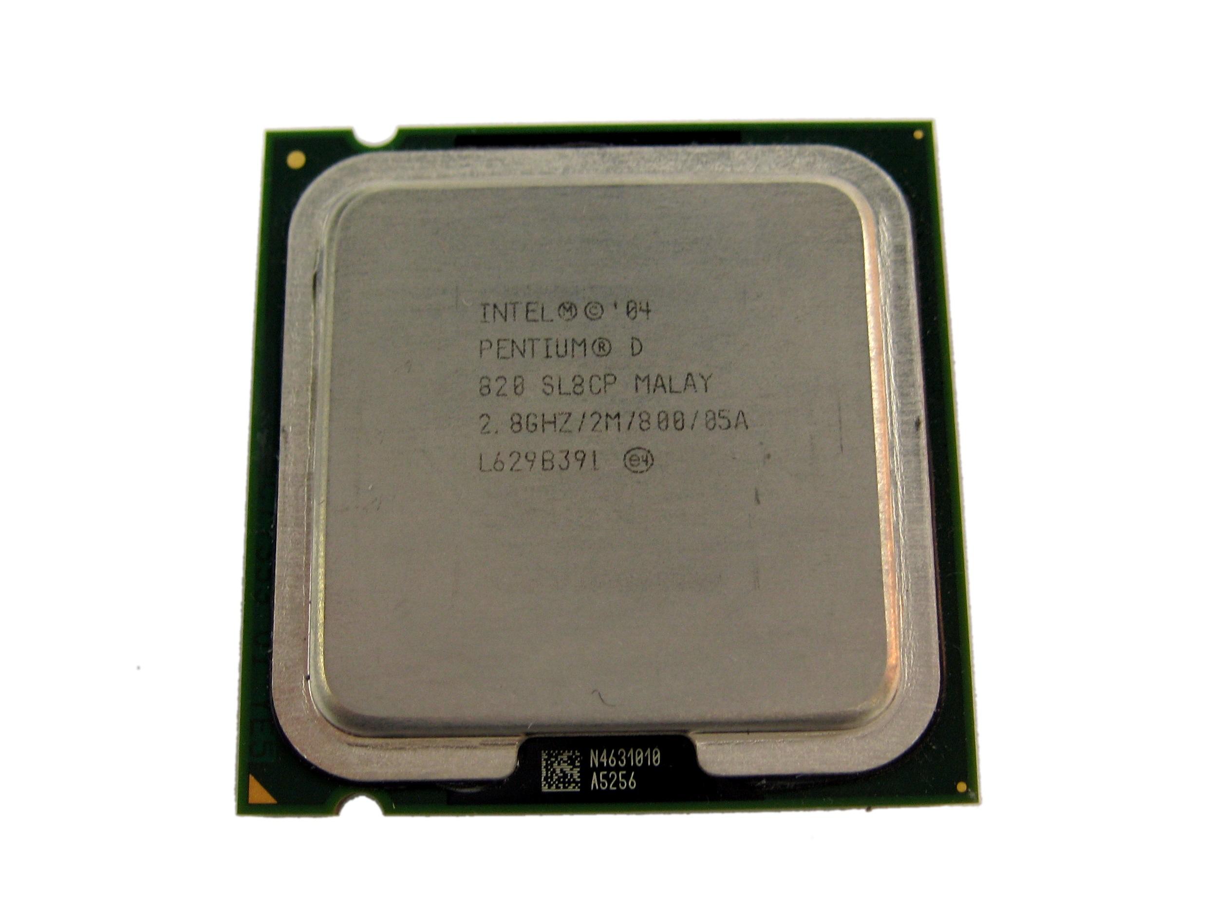 Intel SL8CP Pentium D 820 2.8GHz Socket T LGA775 Processor