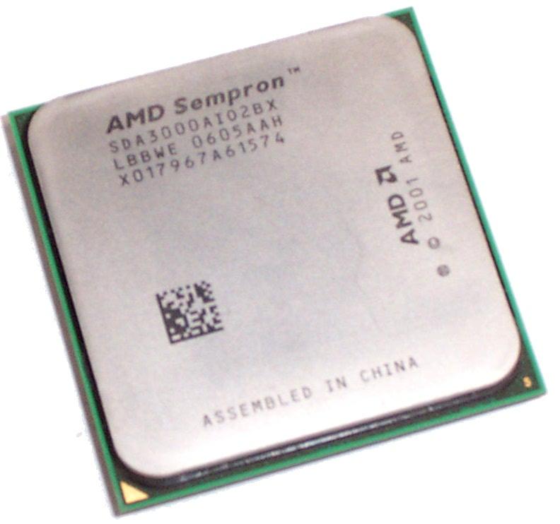 AMD SDA3000AIO2BX Sempron 3000+ 1.8GHZ Socket 754 CPU SDA3000AI02BX