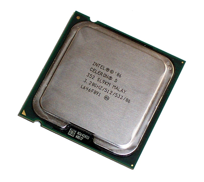 Intel SL9KM Celeron D 352 3.2GHZ Socket T LGA775 Processor