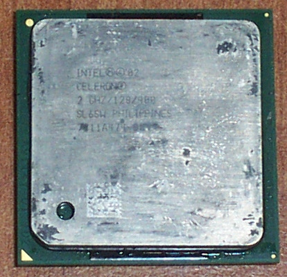 Intel SL6SX Celeron 2.2GHz 128KB 400MHz Socket 478 CPU