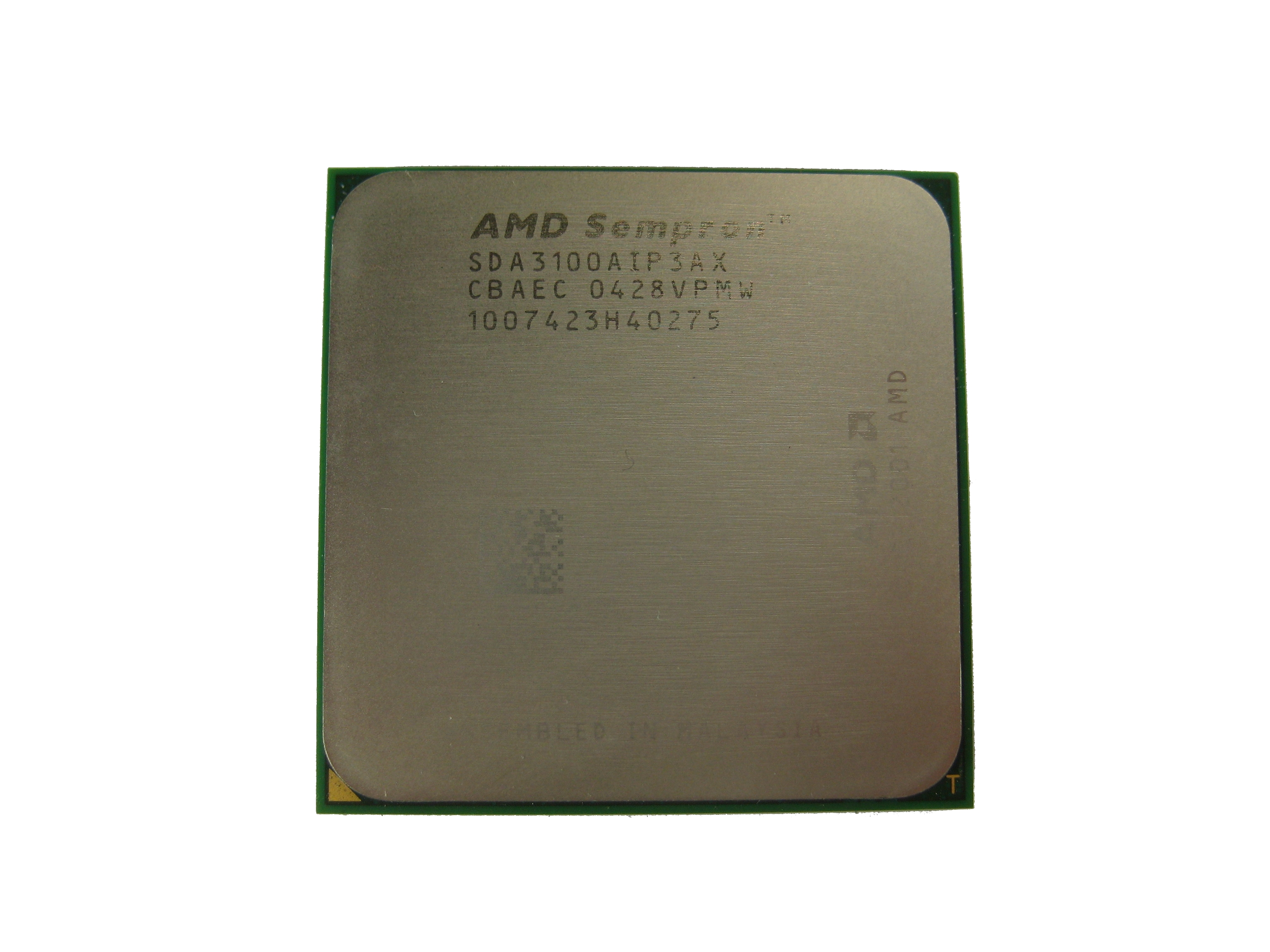 AMD SDA3100AIP3AX Sempron 3100+ Socket 754 CPU