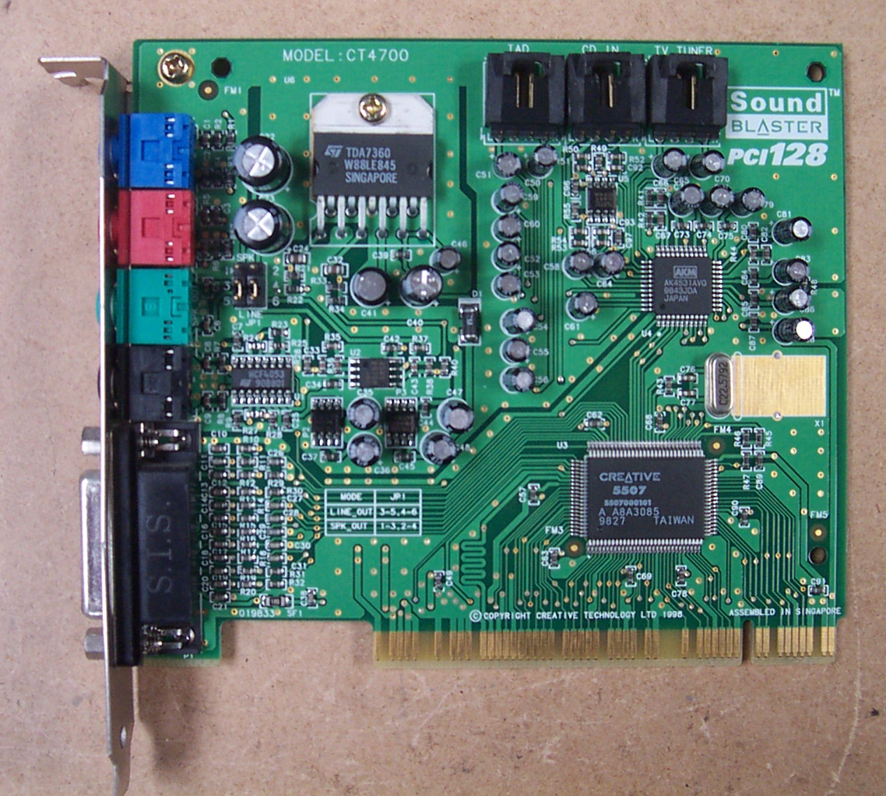 SOUND BLASTER PCI 128 CT4700 DRIVERS FOR MAC DOWNLOAD
