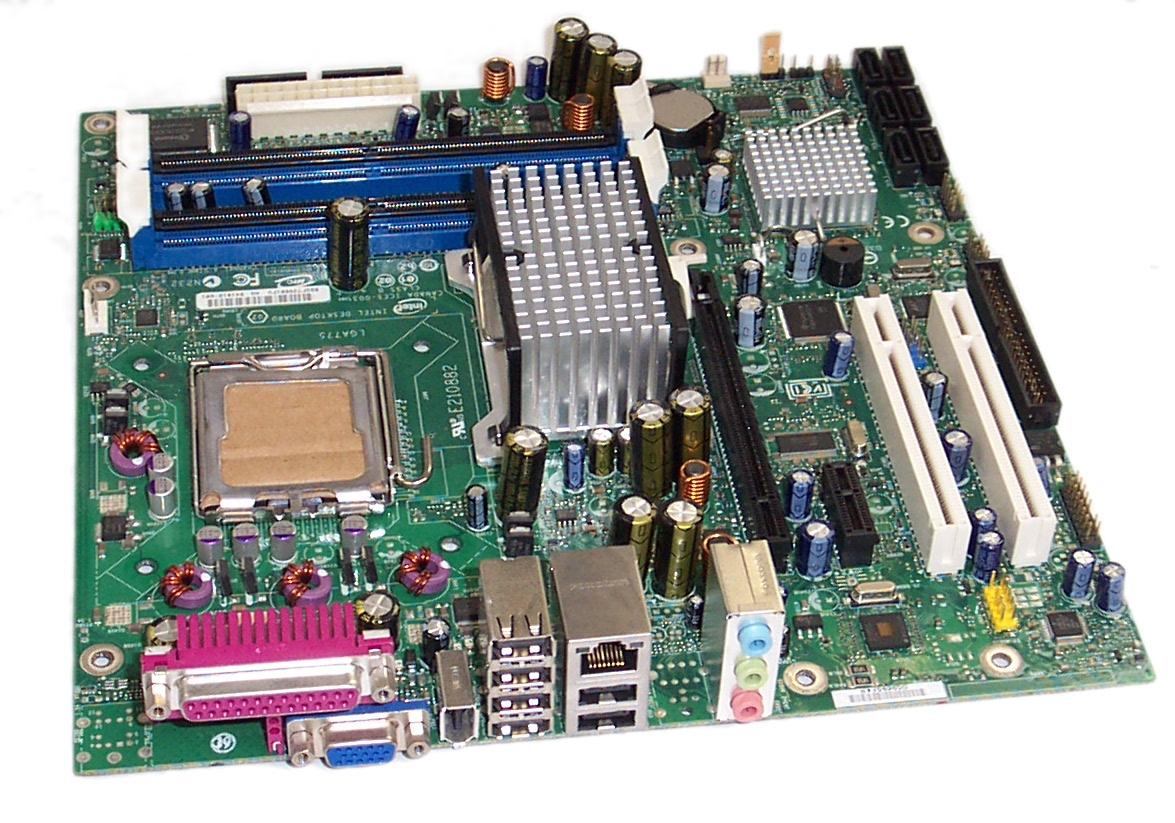 Intel D41016-601 DQ965GF Socket T LGA775 Motherboard