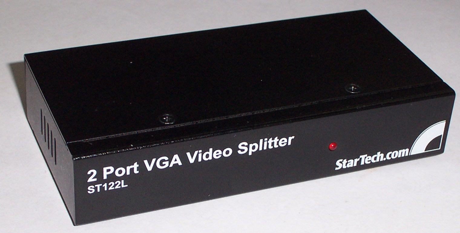 STARTECH ST122L 2 PORT VGA VIDEO SPLITTER - NO PSU