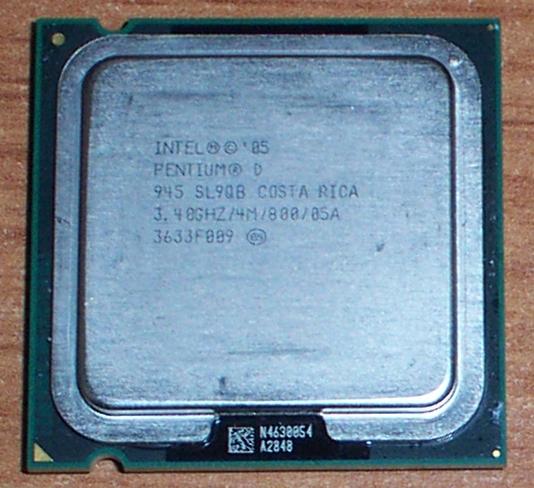 Intel SL95W Pentium D 3.2GHz Socket LGA775 Processor