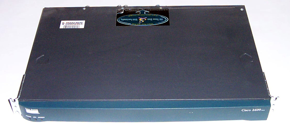 Cisco 2600 series 2651 Version: 12.2(0.5g) Modular Access Router