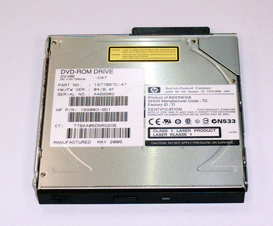 HP 168003-9D1 ProLiant ML570 G3 DVD-ROM Drive