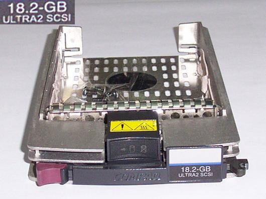 "Compaq 349469-001 SCSI Hot Swap Tray 1"" (18.2GB Ultra2 Sticker)"