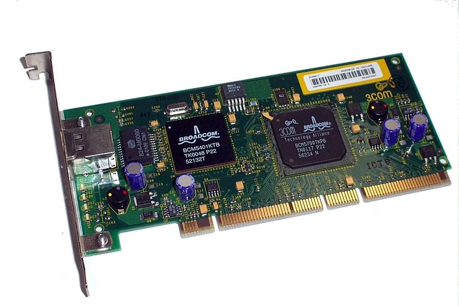 3Com 3C996-T 64-bit PCI Gigabit Network Card NIC