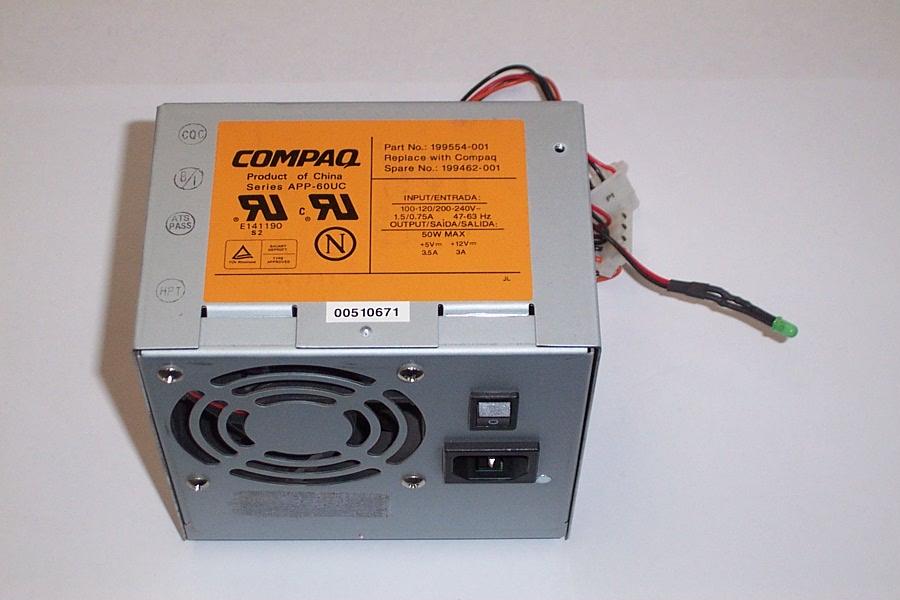 Compaq 199554-001 Series 3300 DLT Power Supply