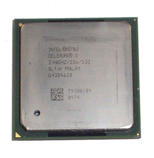Intel SL7JV Celeron D 2.4GHz Socket 478 Processor
