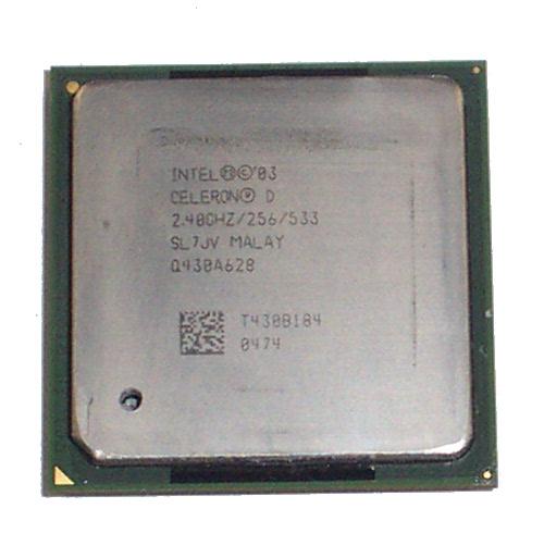 Intel SL7JV Celeron D 2.4GHz Socket 478 Processor