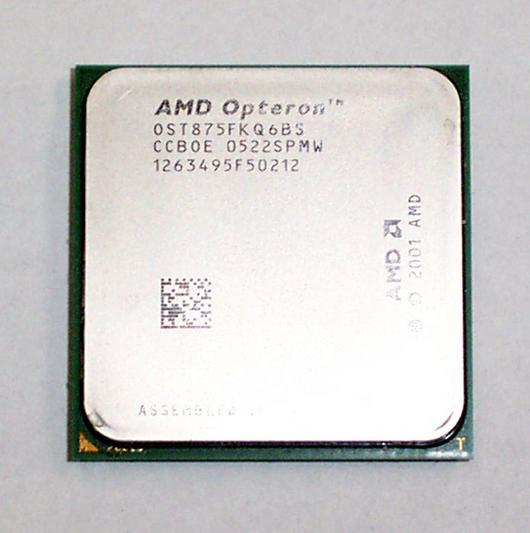 AMD OST875FKQ6BS Opteron Dual-Core 875 2.2GHz Socket 940 CPU