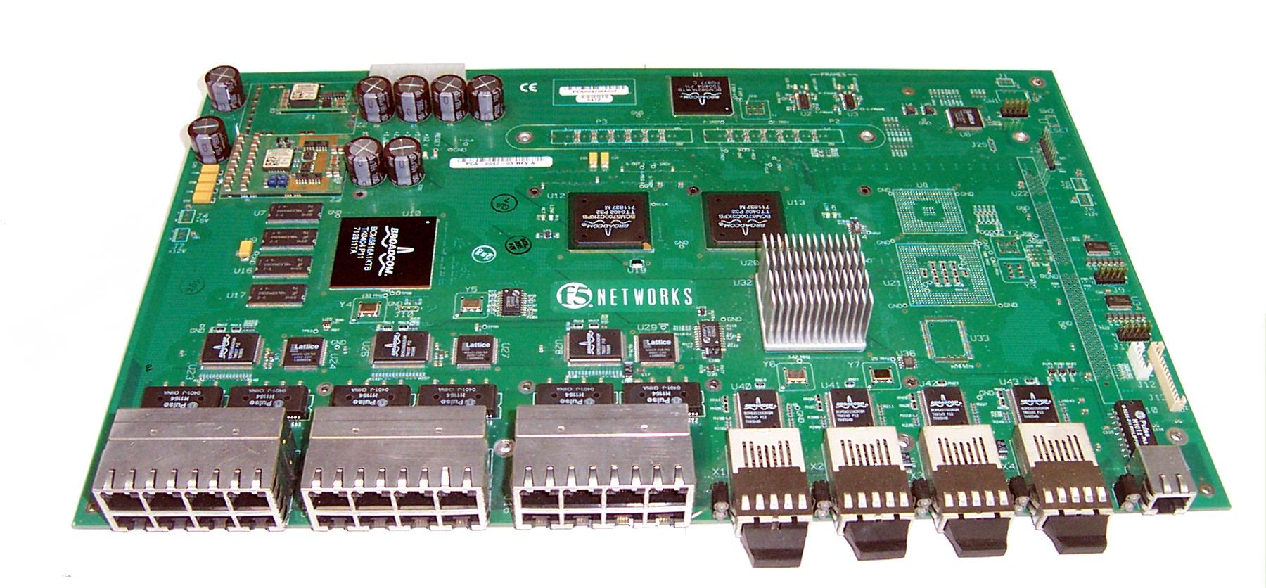 F5 Networks PCA-0042-03 Ethernet & Fibre Channel Board