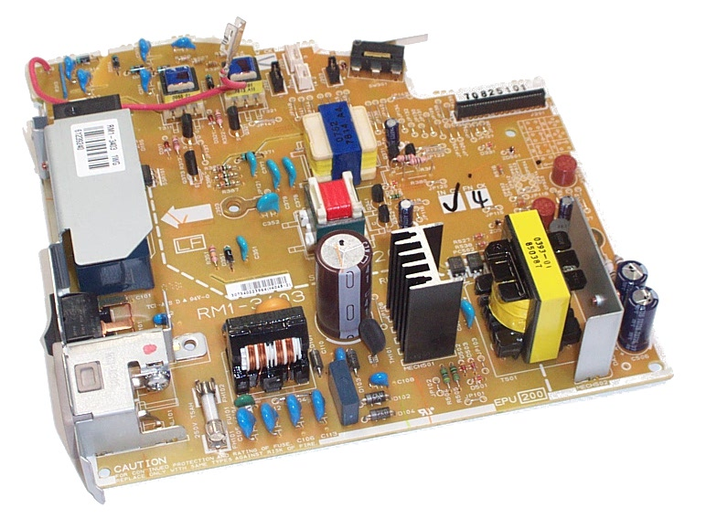 HP RM1-3403 LaserJet 3055 200V Power Supply Board