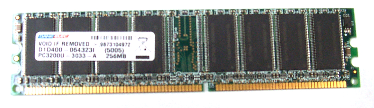 Dane Elec D1D400-064323I 256MB DDR SDRAM for Desktop PC