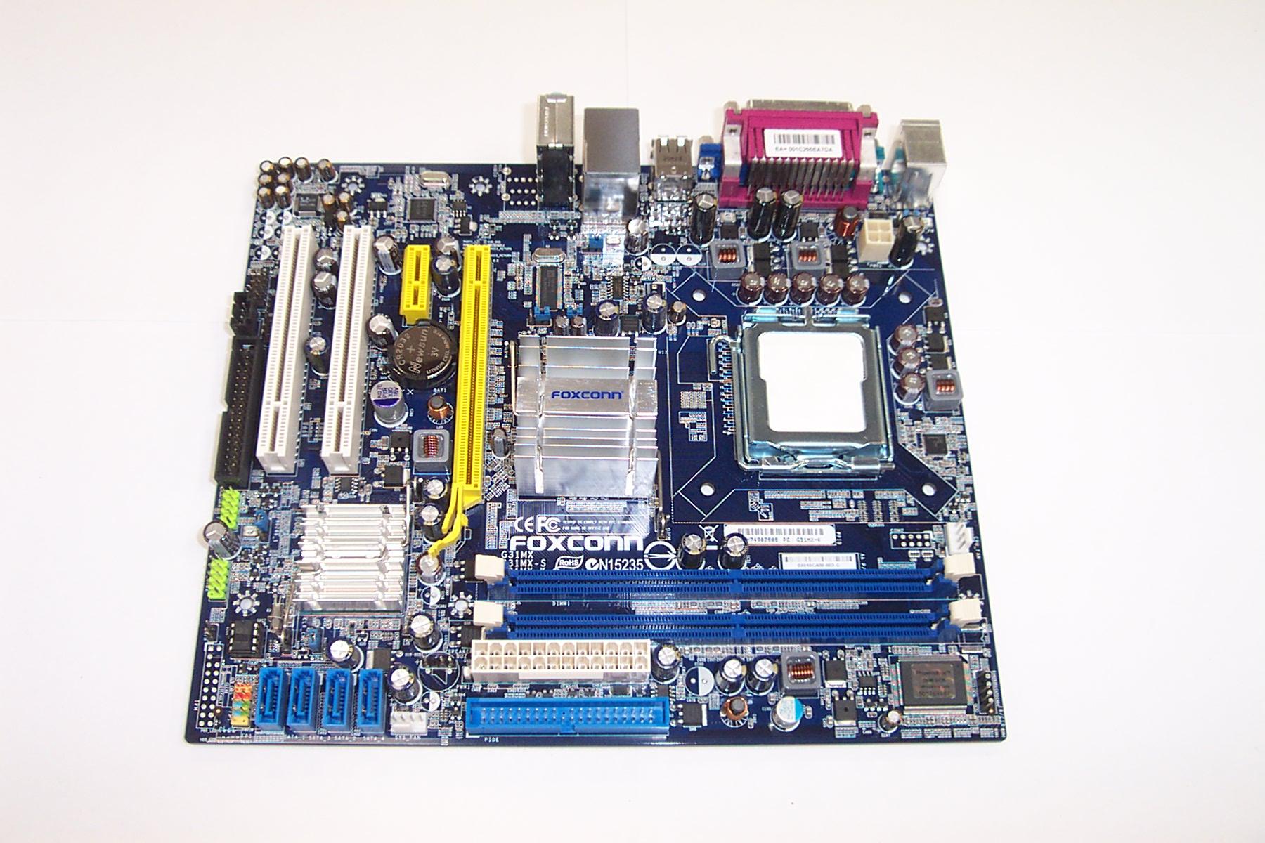Foxconn G31MX-K Socket T (LGA 775) microATX Motherboard