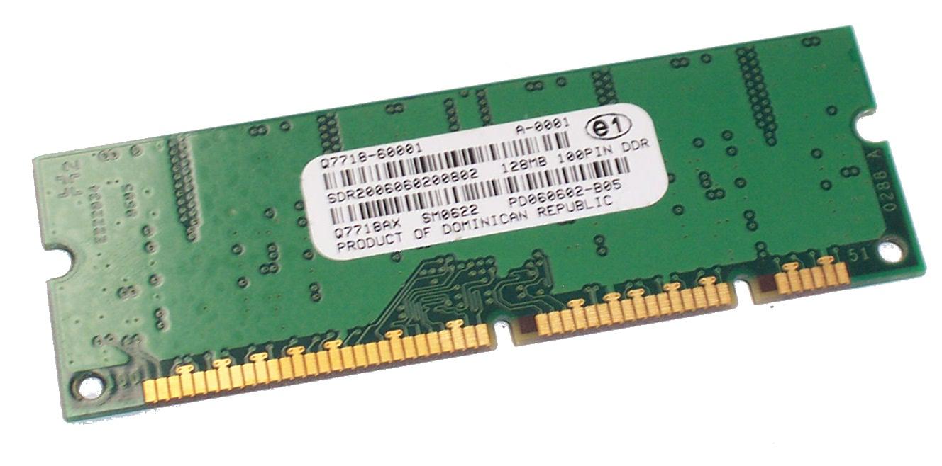 HP Q7718-60001 LaserJet 9050 128MB 100-Pin Memory