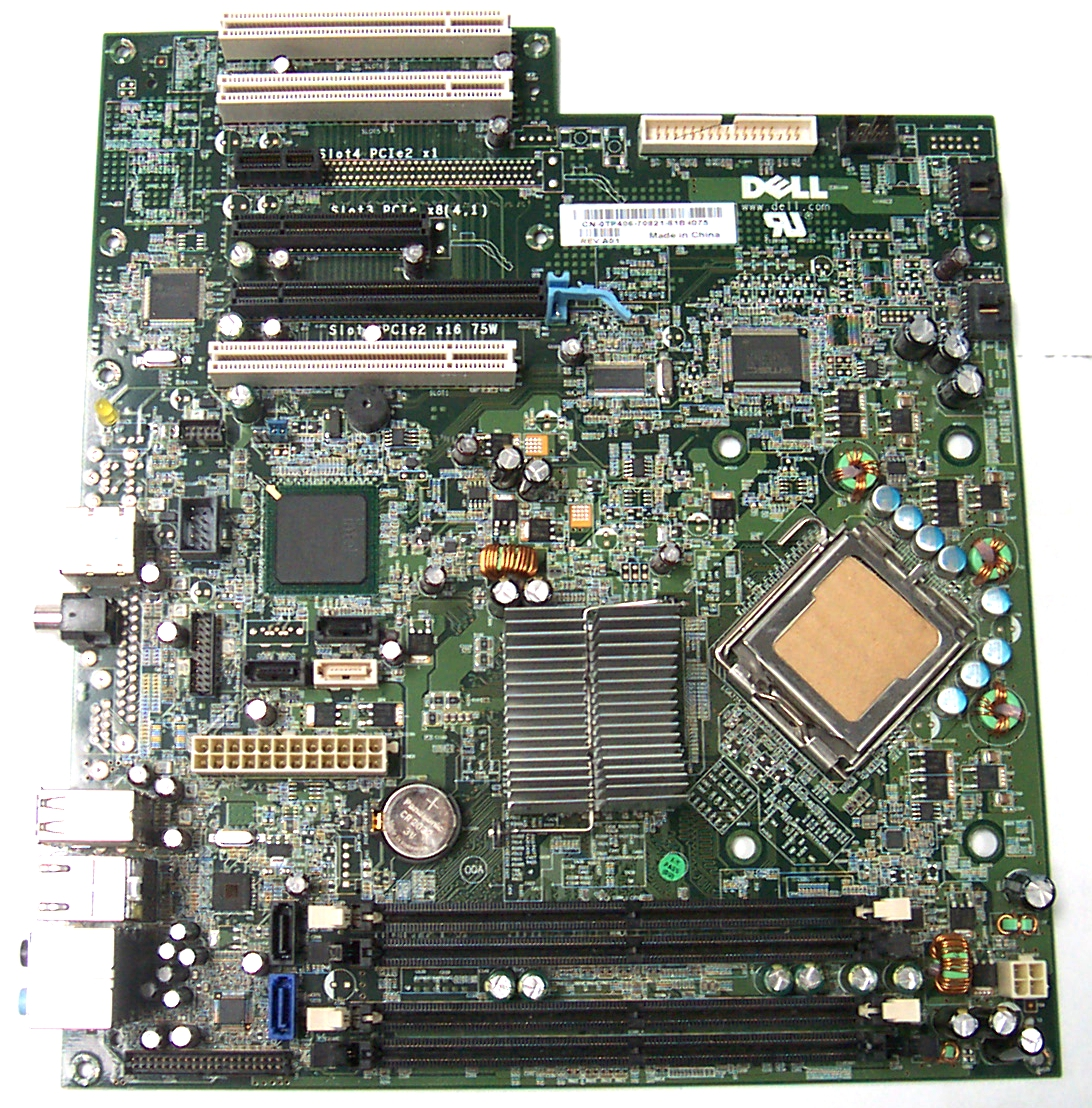 Dell TP406 XPS 420 Socket T LGA775 Motherboard with/ Front Panel Display