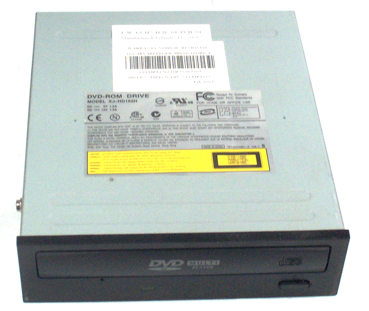 Dvd rom xj hd166 firmware