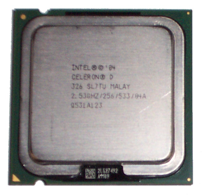Intel SL7TU Celeron D 326 2.53GHz 256KB 533Mhz-BUS Socket 775 Processor