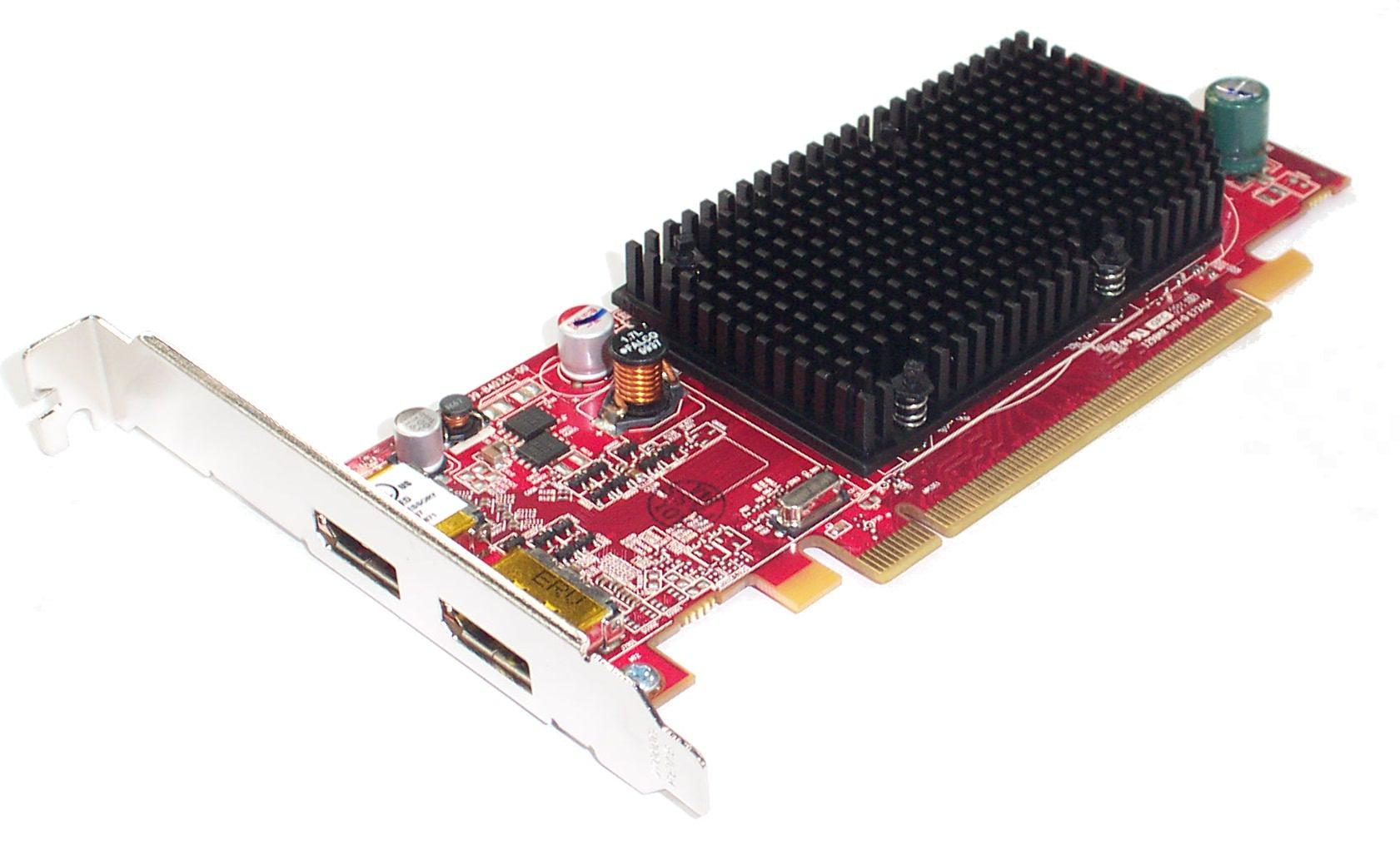 7CJHP Dell ATI Radeon FirePro 2260 256MB DP/DP PCIe Graphics Card