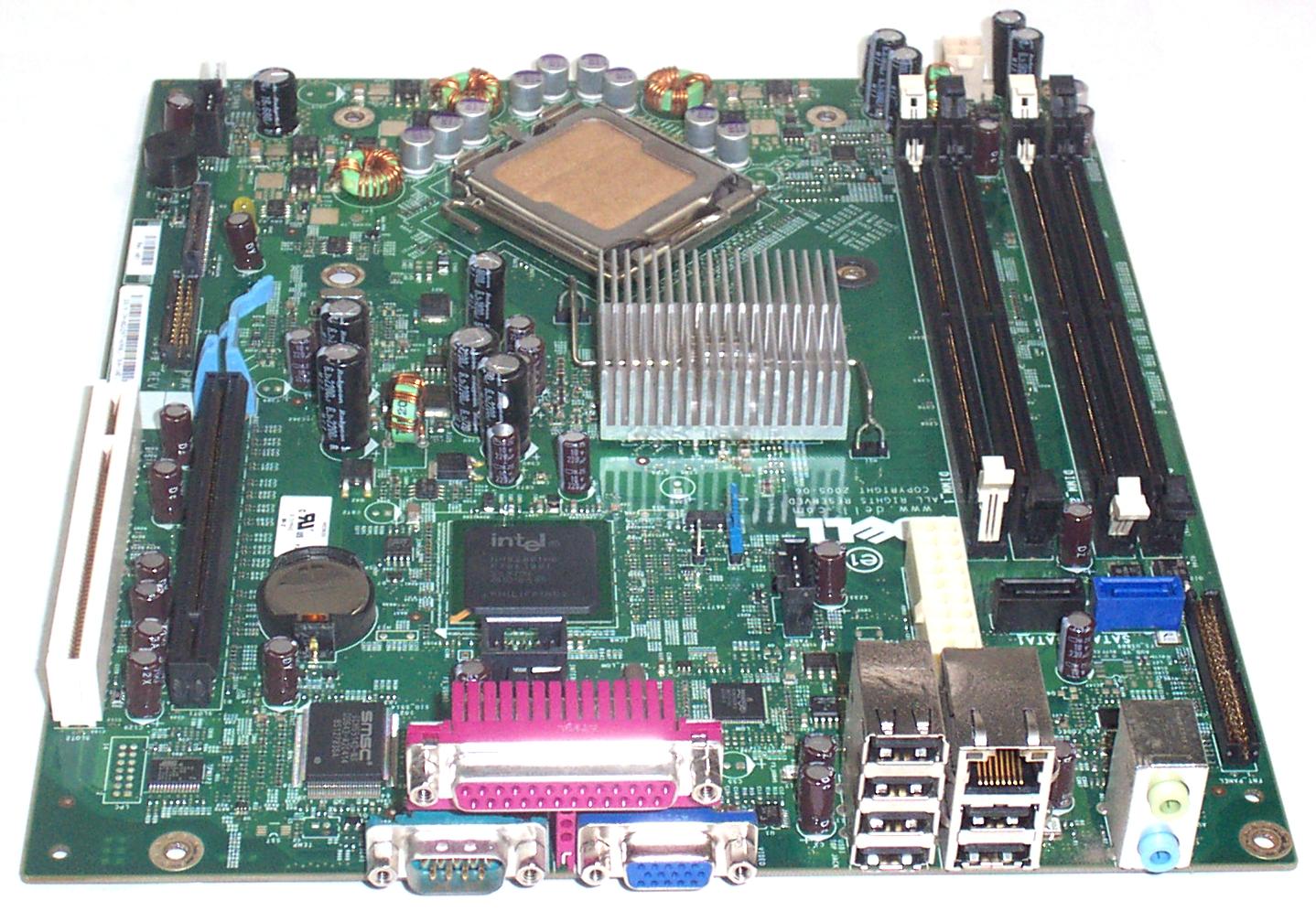 Dell GX297 OptiPlex 745 Model DCCY SFF LGA775 Motherboard