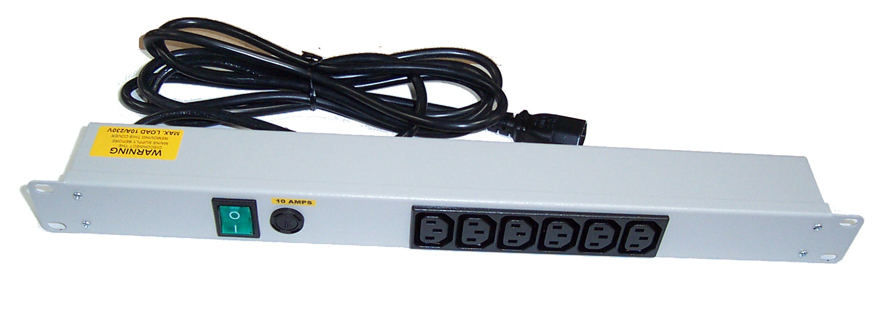 New Connectix 92272 10AMPS 6 Port IEC C14 Power Strip