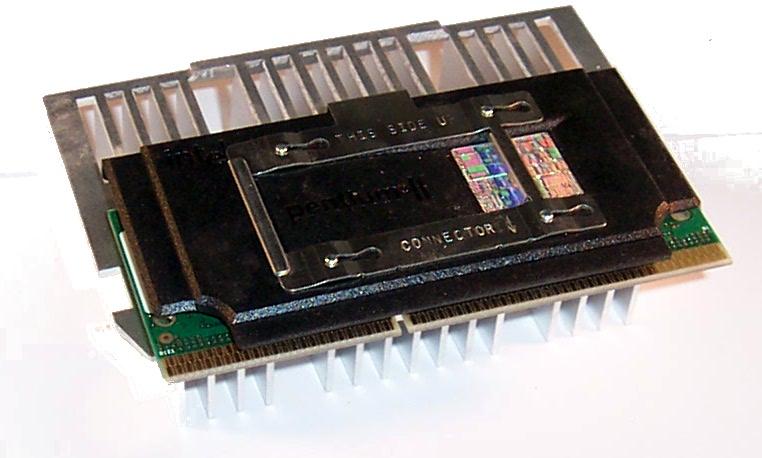 Intel SL357 P2 400 CPU with Compaq 401405-001 Heatsink