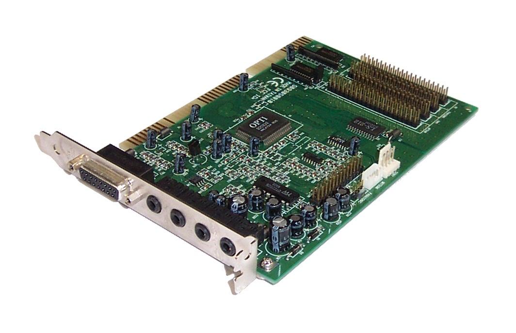 OPTi S0930S0010 930 ISA Sound Card - FCC ID: LWE-ATC930